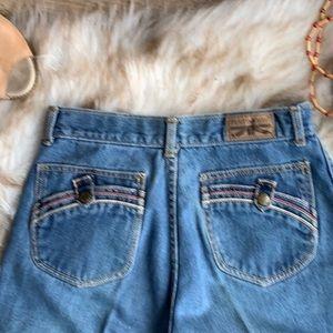 Denim - Vintage ultra high waisted jeans